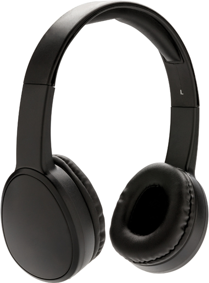 Fusion Wireless Headphones in black