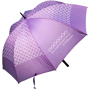 Golf Umbrella Bedford in purple with white pattern and logo