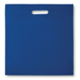 blue thepo sqaure document bag with handle