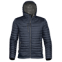 Gravity Thermal Shell in black with full zip and 3 zipped pockets on outside