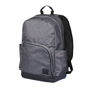 """Grayson 15"""" Computer Backpack in grey and black"""