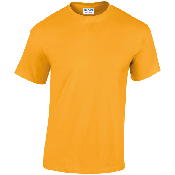 Heavy Cotton Adult t-shirt in orange