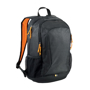 "Ibira 15.6"" Laptop And Tablet Backpack in black and orange"