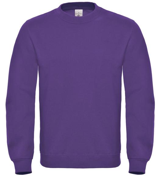 ID 002 Sweatshirt in purple with crew neck