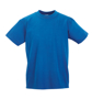 Kids T-Shirt in blue with crew neck