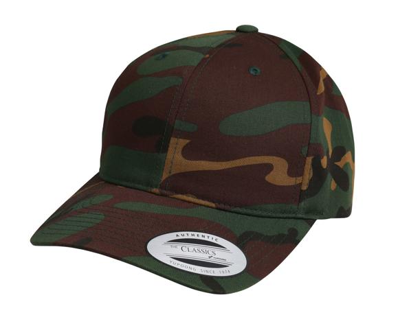 LA Baseball Cap in camouflage print