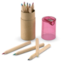 Lambut coloured pencil tube with red lid