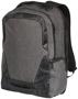 "Overland 17"" TSA laptop backpack in charcoal"