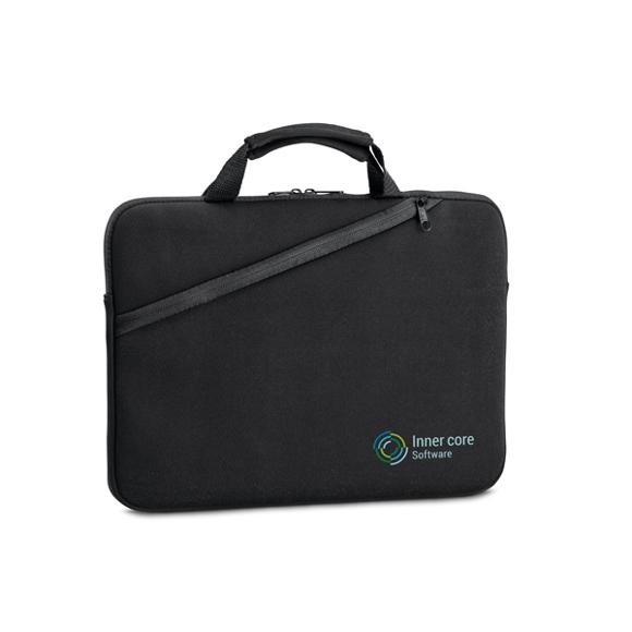 Black laptop carry case