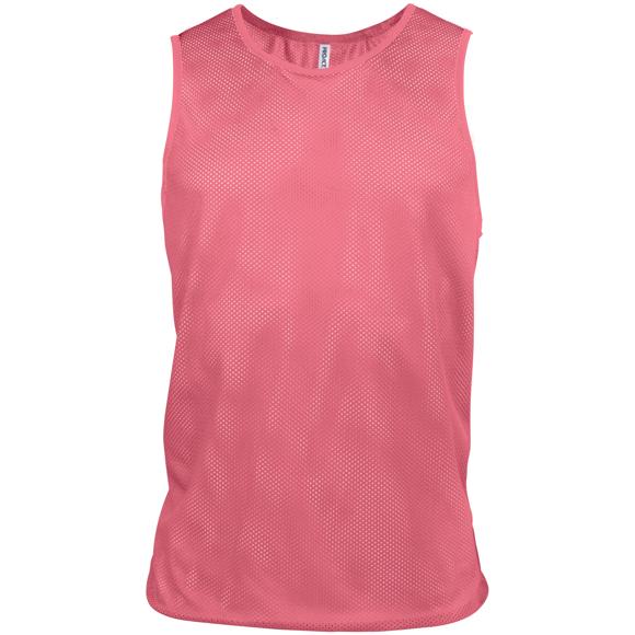 Light Mesh Bib in pink