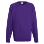 Lightweight Raglan Sweatshirt in purple with crew neck