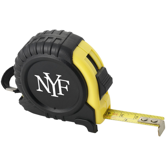 measuring tape with 1 colour logo