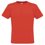 Men Only Tee in red with crew neck