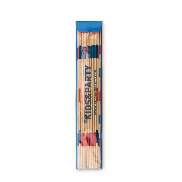 mikado set in blue package
