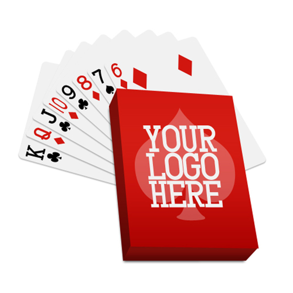 red pack of playing cards