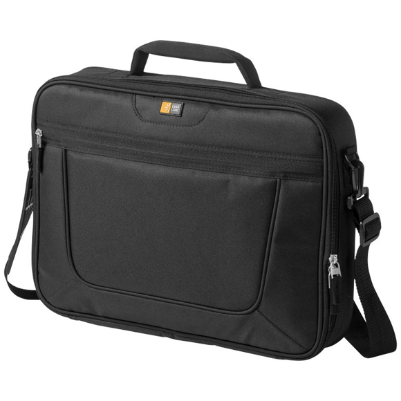 Black padded laptop case
