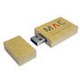 Paper Memory Stick with 2 colour print logo
