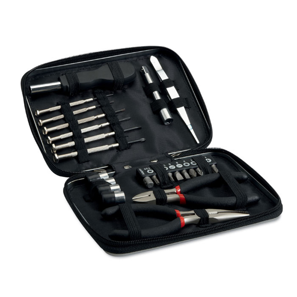 open view of the paul tool kit
