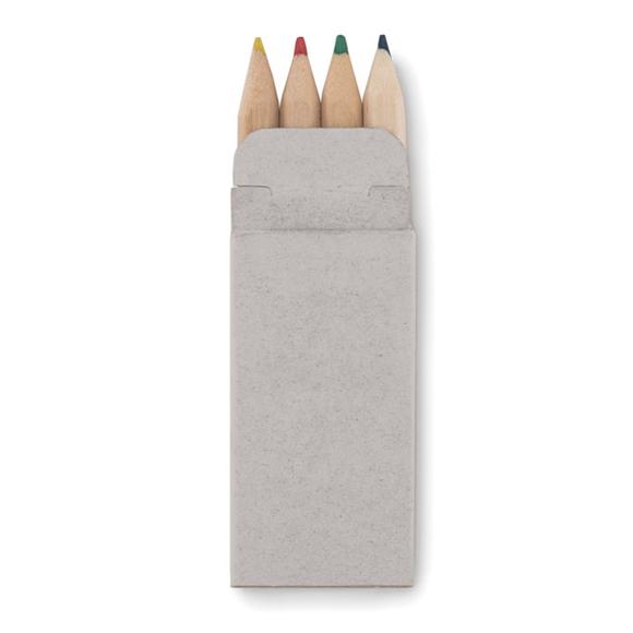 Petit abigail 4 coloured pencils in carton box