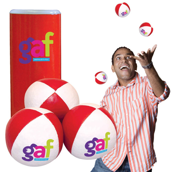 Picture of Recyclable PVC Juggling Ball Trio Set