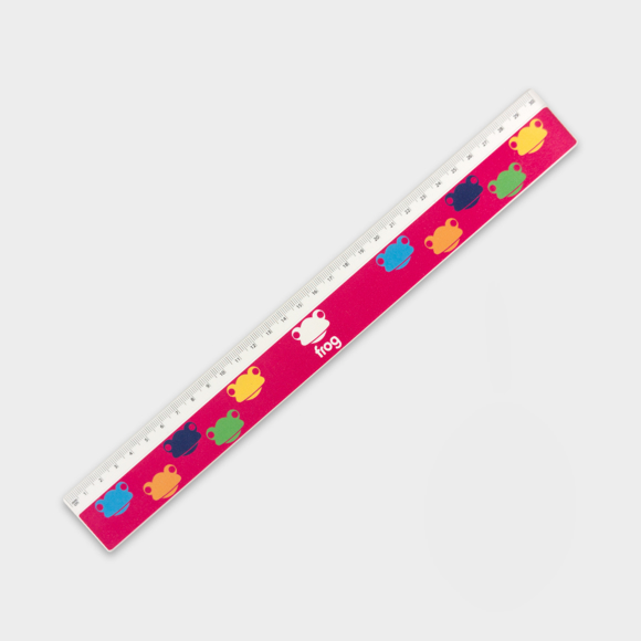 Recycled 30cm Ruler  with full colour print