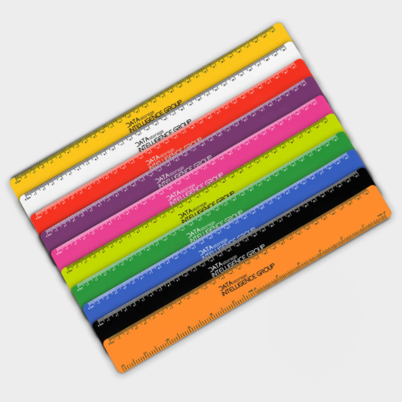 Recycled Flexi Ruler in various colours