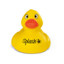 rubber duck with 1 colour logo