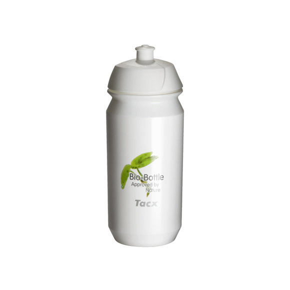 white shiva sports bottle with full colour logo