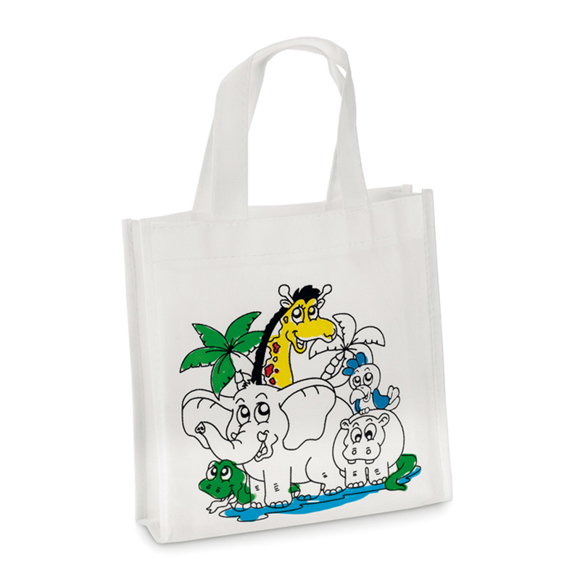 shoopie tote bag with coloured in design