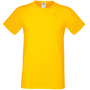 Softspun T in yellow with crew neck
