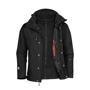Stormtech Beaufort Jacket in black with weatherproof protection
