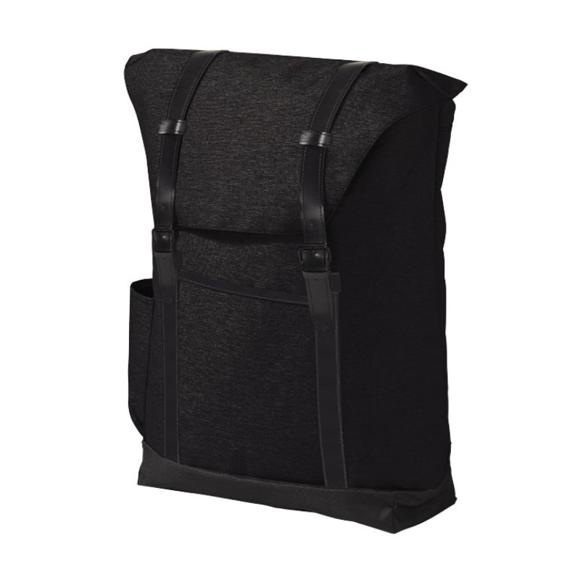 "Thomas 16"" Laptop Backpack in black"