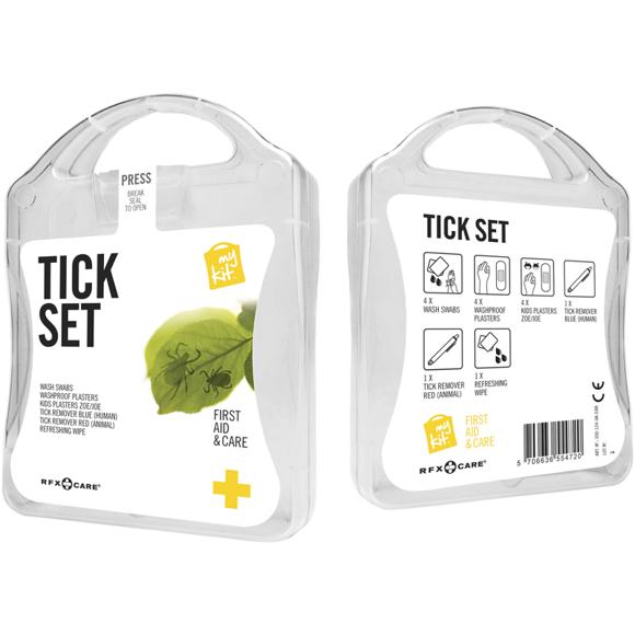 white tick first aid kit