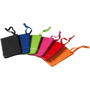 selection of coloured luggage tags