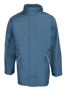 Waterproof professional Jacket in navy with full length zip, 2 pockets and fleece lined