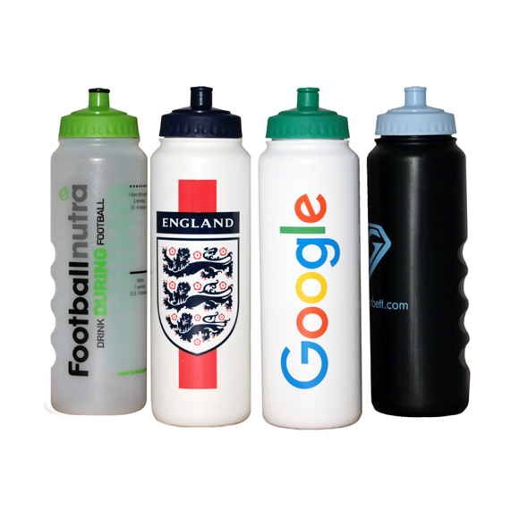 1 litre sports bottle with large print area