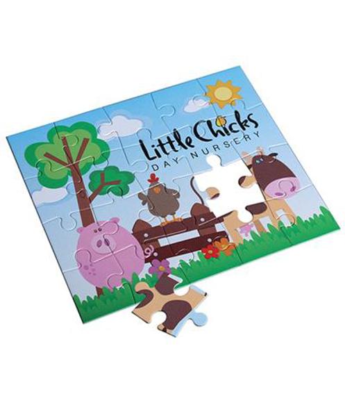 20 piece card jigsaw puzzle
