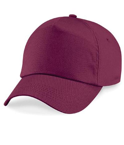 unbranded burgundy beech field unlined cotton cap