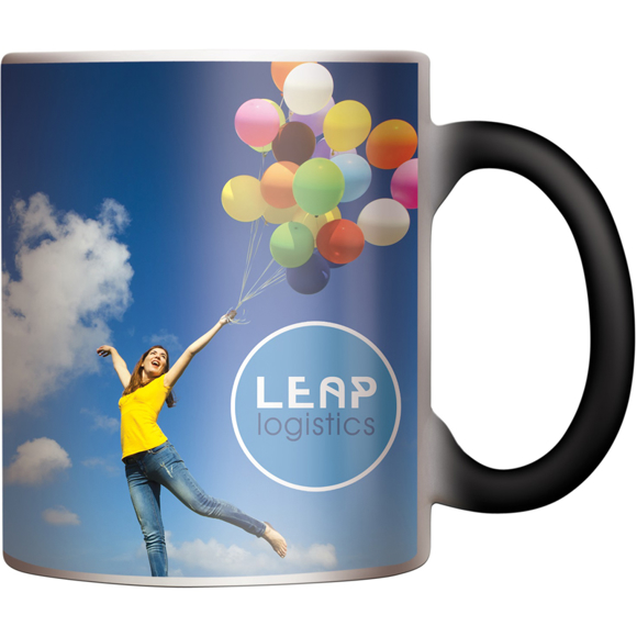 heat activated mug with full colour design