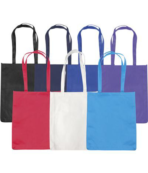 budget friendly shopper bag available in a range of colours