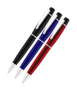 Chorus Ballpen in black, blue and red