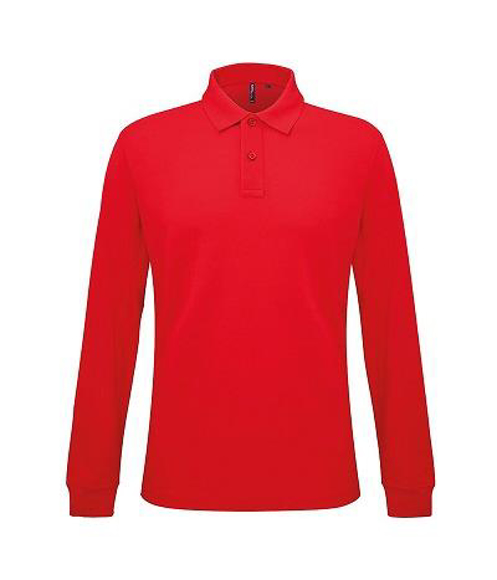 Picture of Classic Fit Long Sleeved Polo