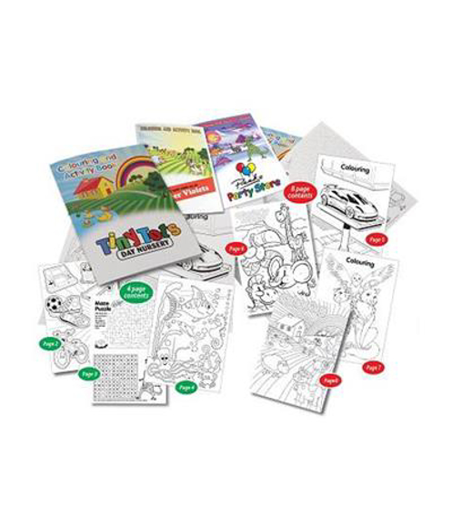 colouring booklets