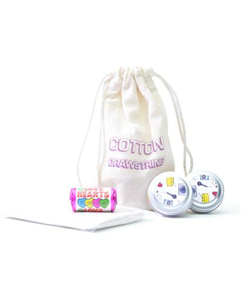 Cotton Festival Pack in white and 2 colour print logo