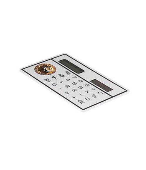 Small credit card sized calculator