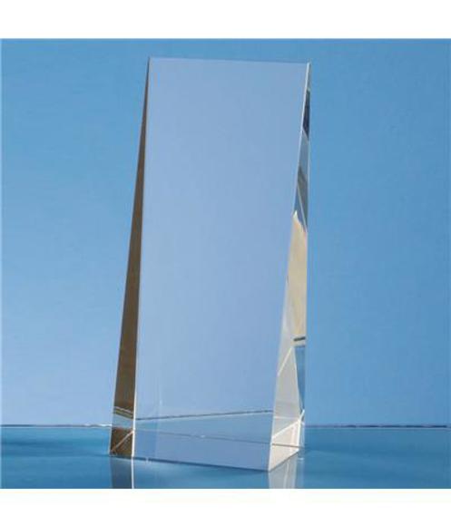 Crystal Wedge Rectangle Award