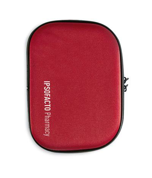red eva first aid kit pouch