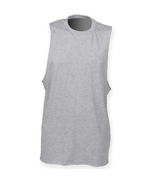 Picture of High Neck Slash Armhole Vest