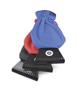 Ice Scraper Glove in blue, red and black