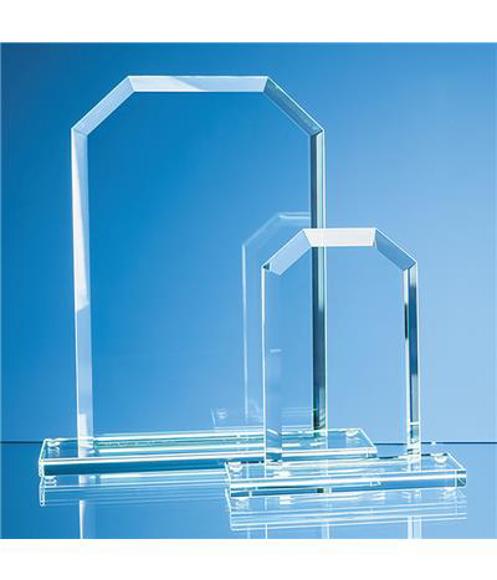 Jade Glass Bevelled Edge Honour Award